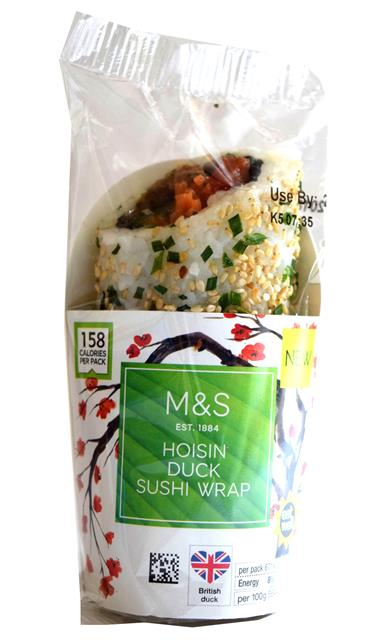 HOISIN DUCK SUSHI WRAP