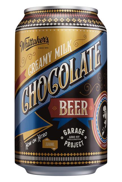 CREAMY MILK CHOCOLATE BEER