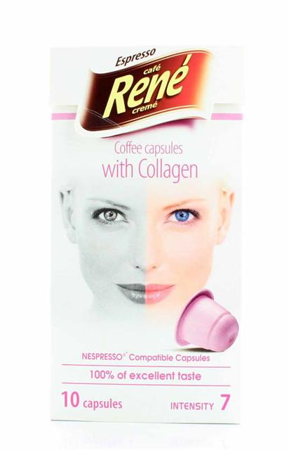 COFFEE CAPSULES WITH COLLAGEN