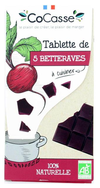 TABLETTE DE 5 BETTERAVES